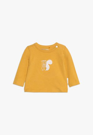 TEE SLIM QUIBOR BABY - Langarmshirt - mineral yellow
