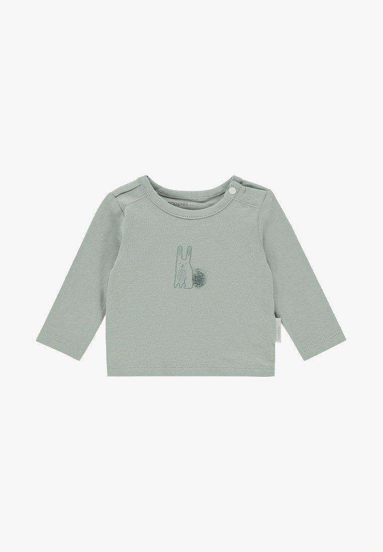 Noppies - TEE SLIM QUIBOR BABY - Langarmshirt - green