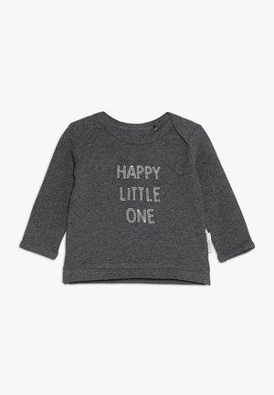 SLIM QUILLOTA BABY - Top sdlouhým rukávem - grey melange
