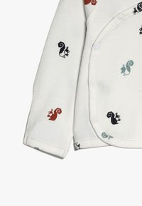 Noppies - OVERLAP KRIMPTON - Long sleeved top - whisper white - 4