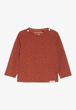 TEE KRIS - Maglietta a manica lunga - spicy ginger