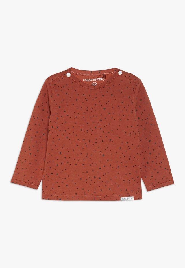 TEE KRIS - Long sleeved top - spicy ginger