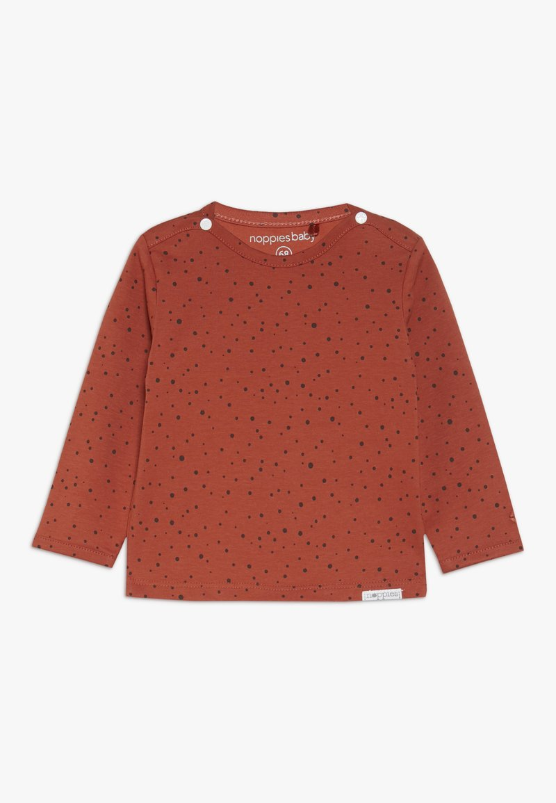 Noppies - TEE KRIS - Camiseta de manga larga - spicy ginger