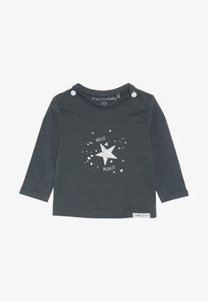 TEE LUX TEKST - T-shirt à manches longues - dark grey