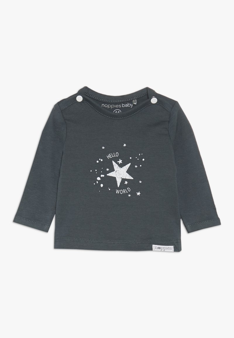 Noppies - TEE LUX TEKST - Sweatshirt - dark grey