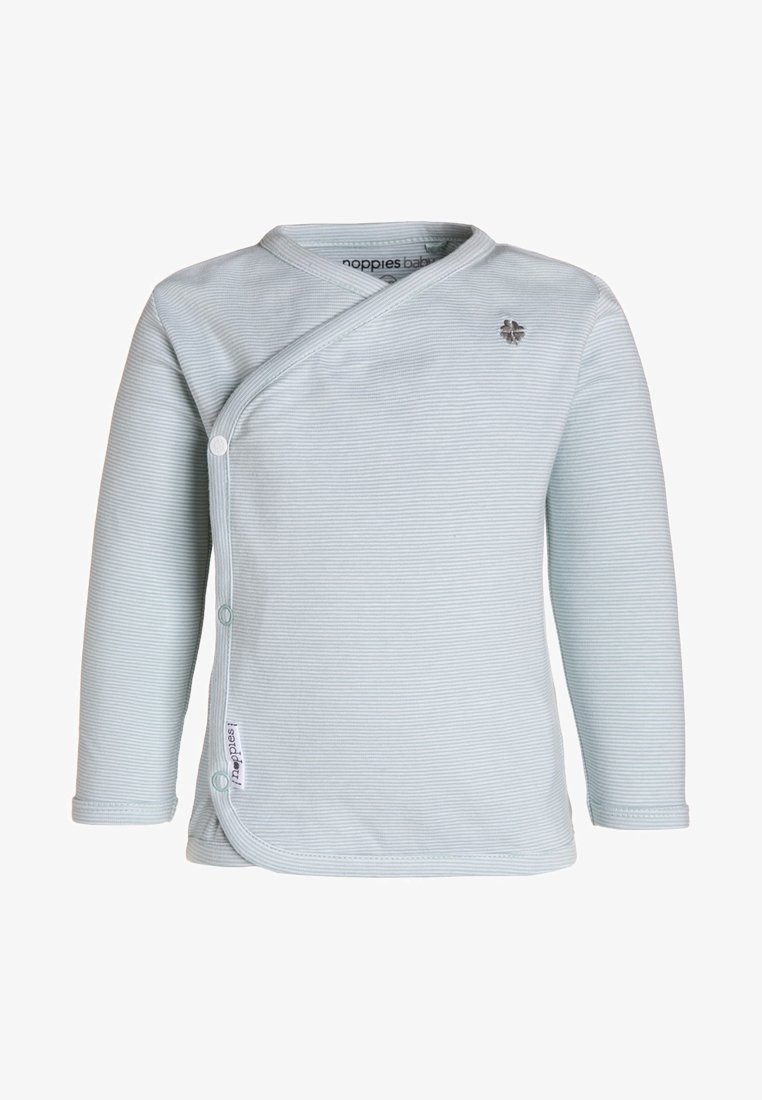 Noppies - SOLY - Long sleeved top - grey mint