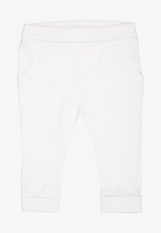 HUMPLE - Trainingsbroek - white