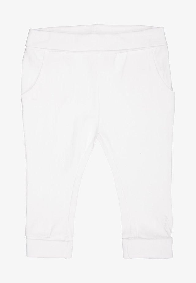 HUMPLE - Teplákové kalhoty - white