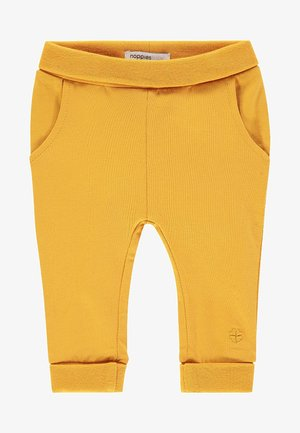 HUMPLE - Tracksuit bottoms - honey yellow