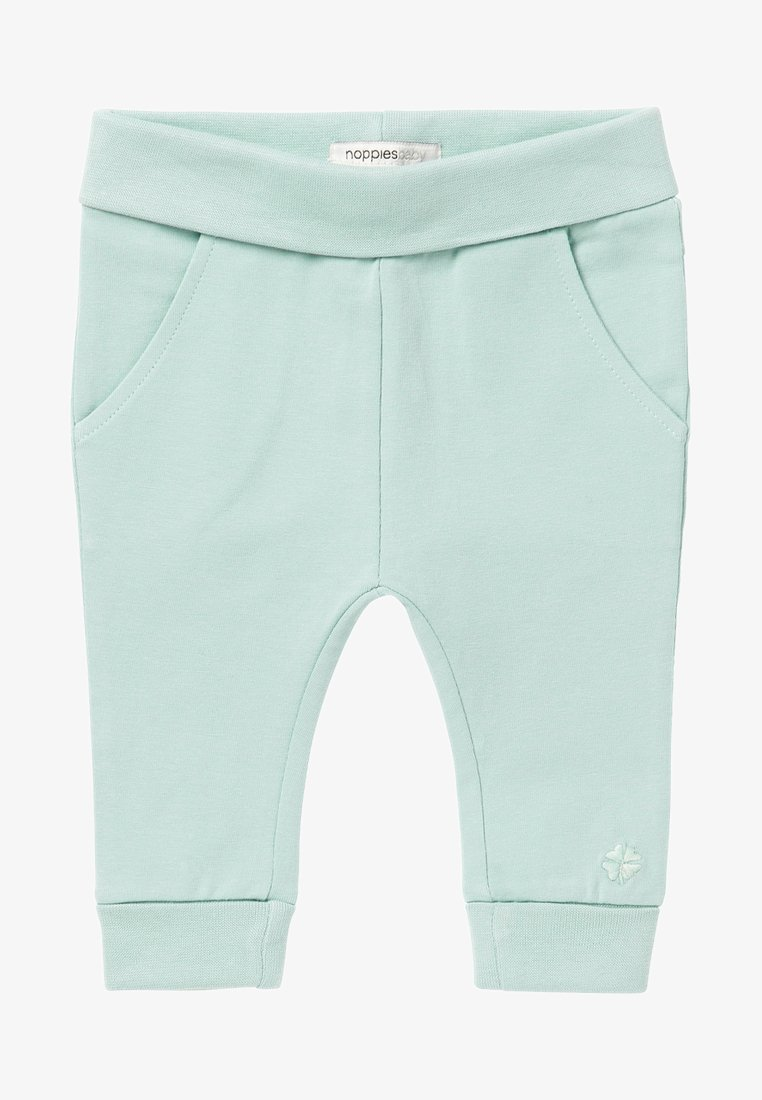 Noppies - HUMPLE - Tracksuit bottoms - grey mint