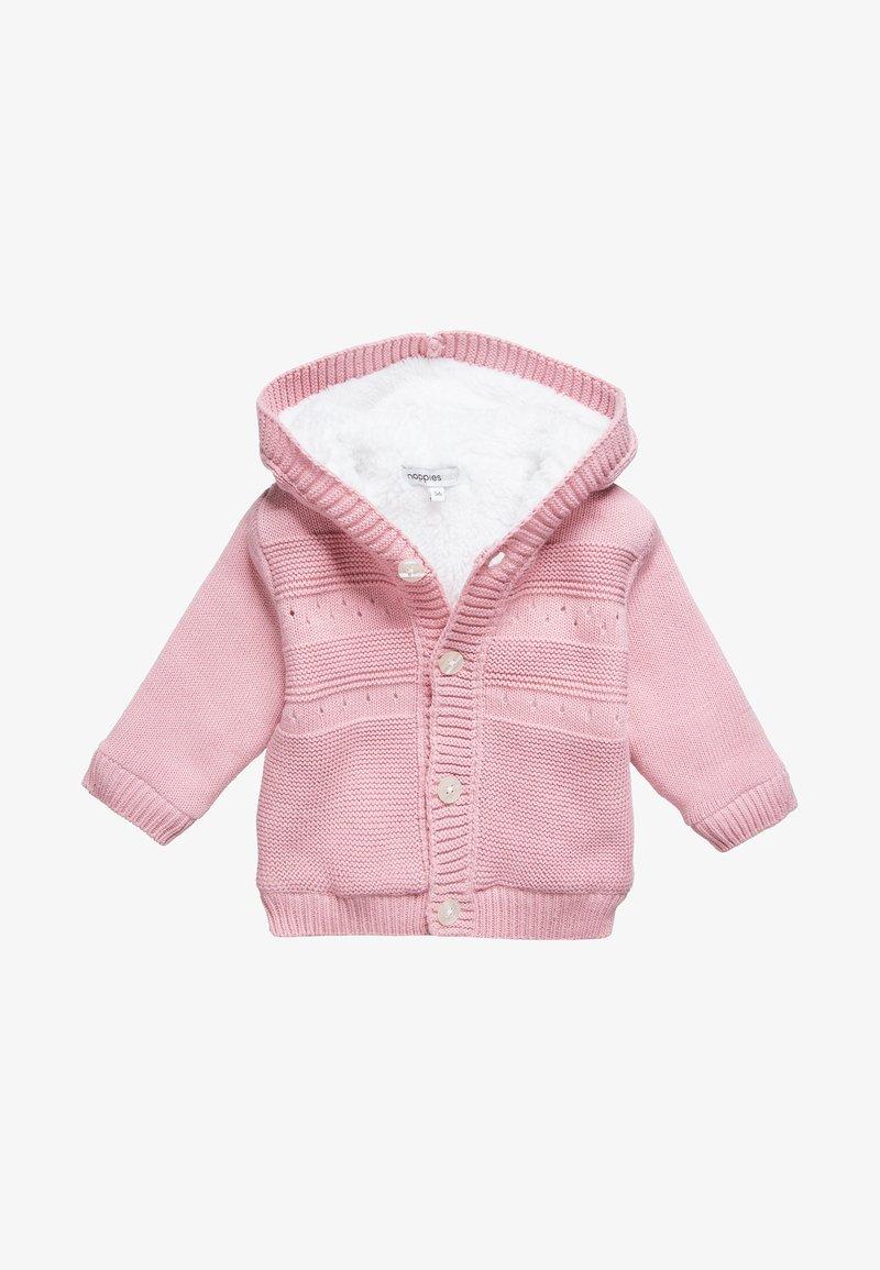 Noppies - CARDIGAN VALENTIJN - Light jacket - rose