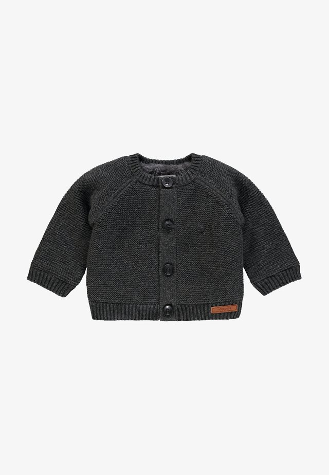 DANI - Strickjacke - dark grey melange