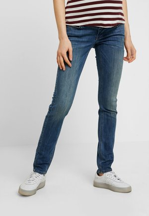AVI - Jeans Slim Fit - green tinted blue