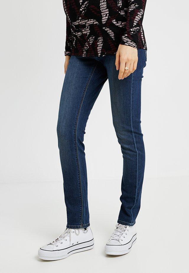 MILA AUTHENTIC - Jeans slim fit - authentic blue