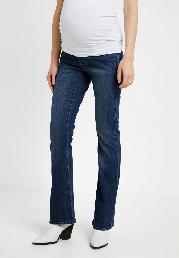 Noppies - JADE AUTHENTIC - Bootcut jeans - authentic blue