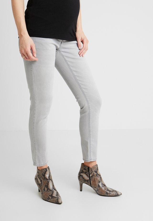 MILA - Jeans slim fit - light aged grey