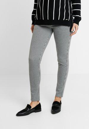 PANTS JAQUARD TAMAR - Kalhoty - black