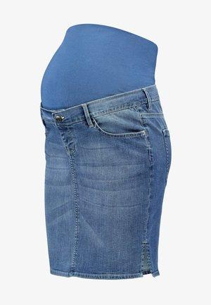 SKIRT - Falda vaquera - aged blue