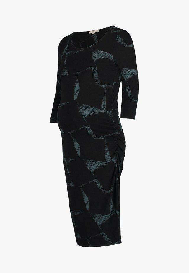 LESLEY - Korte jurk - green/black
