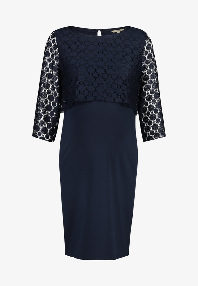 KLEID MARRON - Korte jurk - dark blue