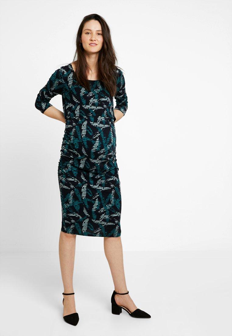 Noppies - DRESS NURS RANI - Jerseykjole - tidepool