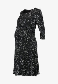 Noppies - DRESS NURS TATUM - Jerseyjurk - black - 3