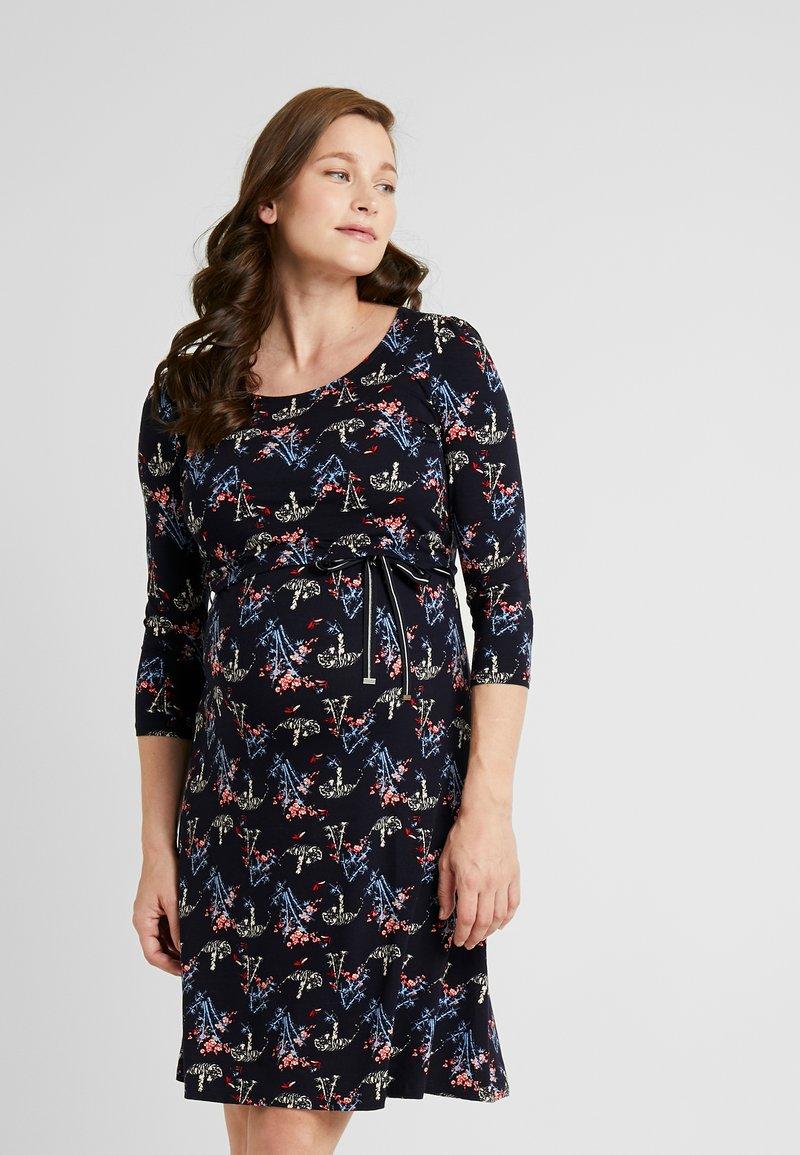 Noppies - DRESS NURSING ZAHIRA - Žerzejové šaty - night sky