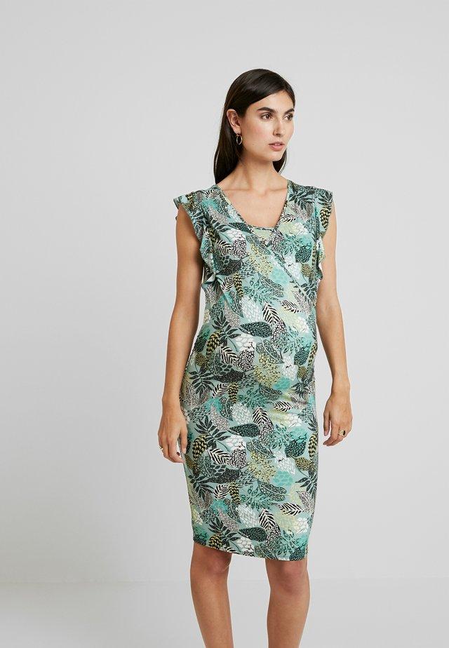 DRESS NURS BELLE - Vestito di maglina - blue surf