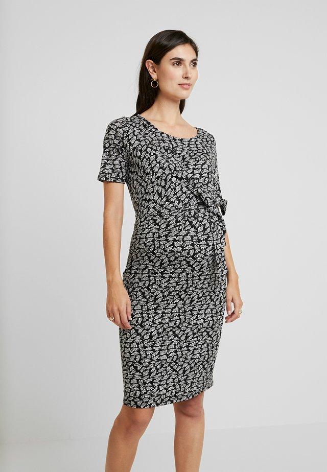 DRESS BIANCA - Sukienka z dżerseju - black