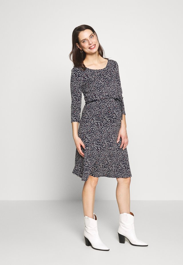 DRESS NURS ALICIA - Sukienka z dżerseju - night sky