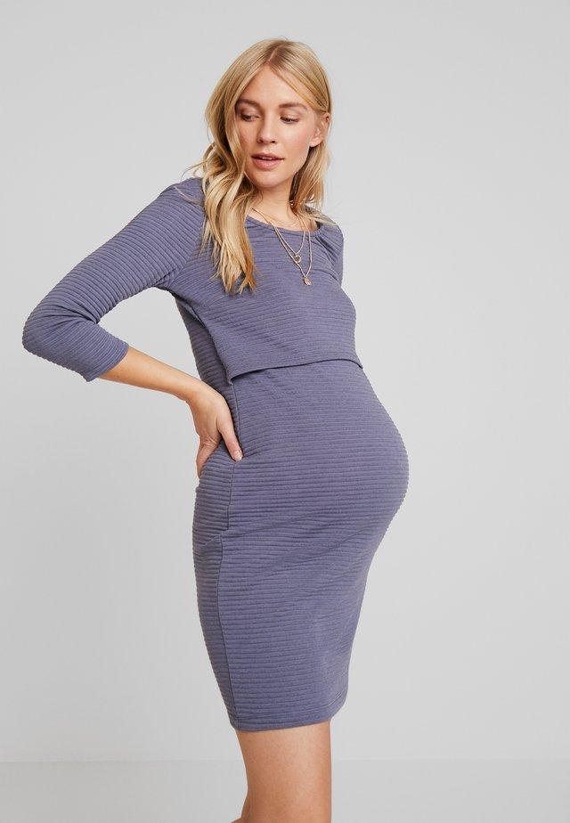 DRESS ZINNIA - Fodralklänning - nightshadow blue