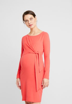 DRESS ANOUK - Jersey dress - bittersweet