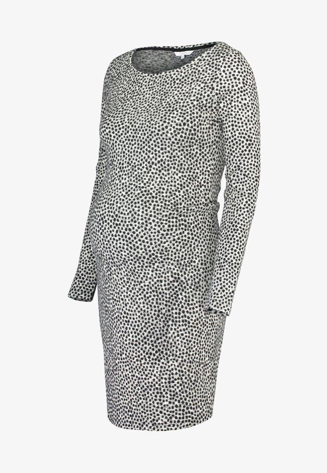 Etui-jurk - grey melange