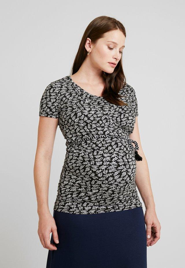 TEE NURS BECCA - T-shirt med print - black