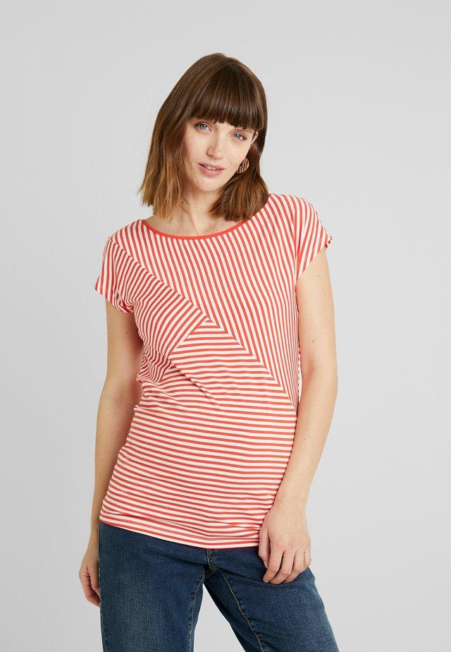 ABBEY - T-Shirt print - bittersweet