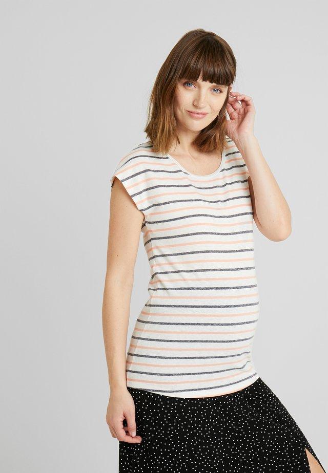 TEE ALINE - T-Shirt print - marshmallow