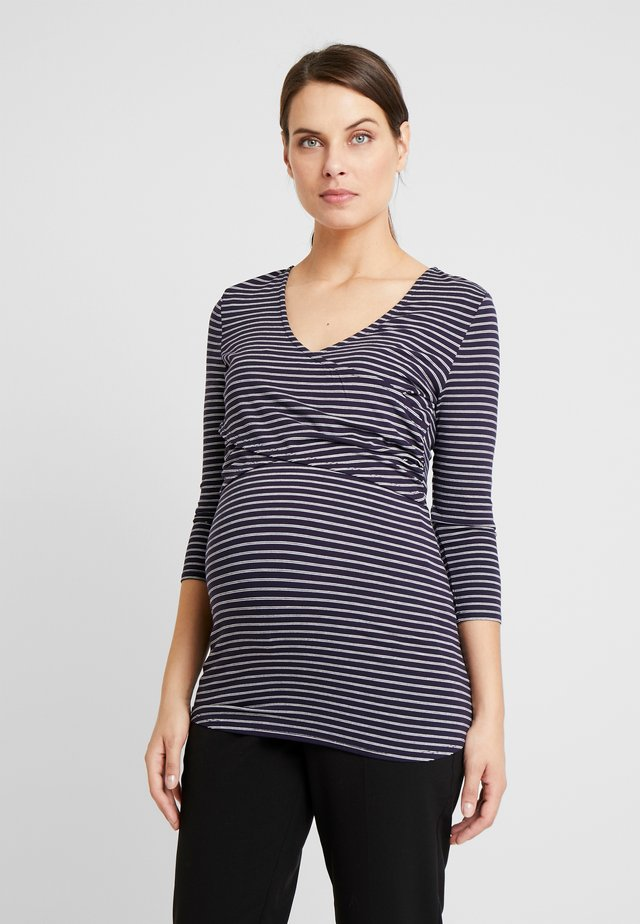 TEE AMELIA - Long sleeved top - night sky