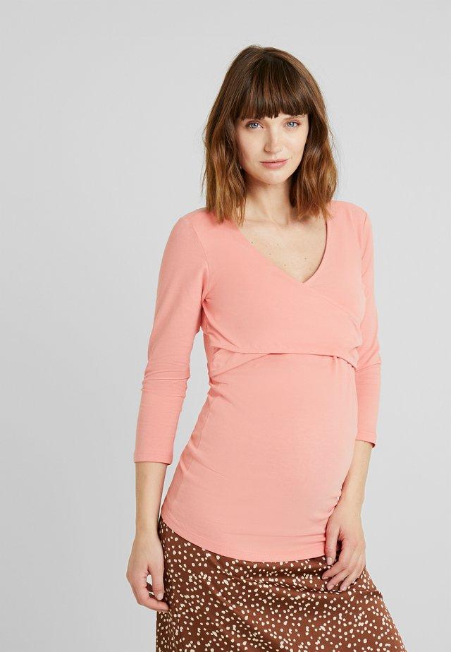 TEE NURS AMELIE - Long sleeved top - lantana