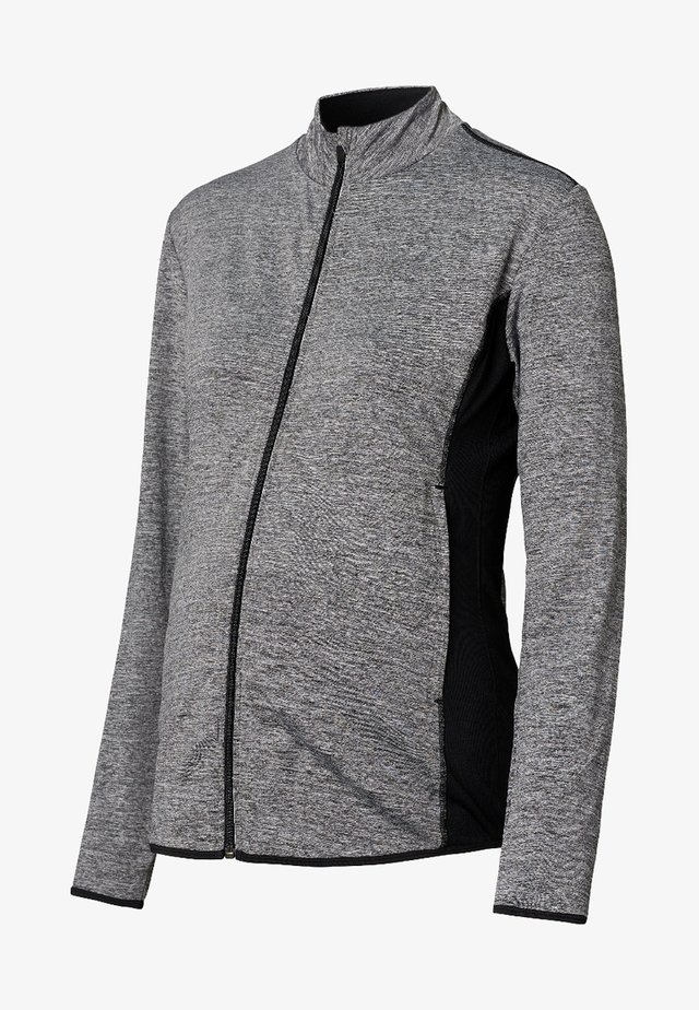 Training jacket - grey melange