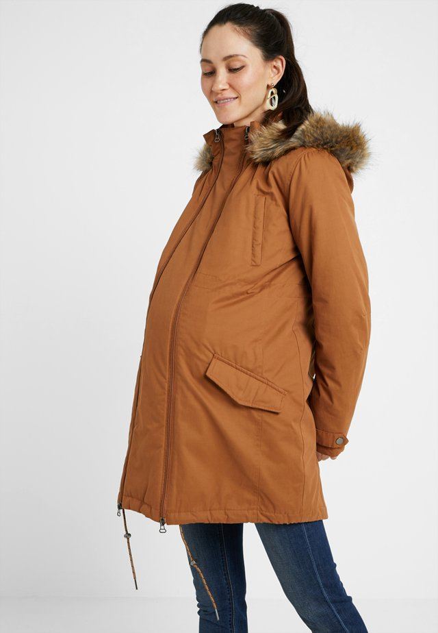 MALIN - Winter coat - bone brown