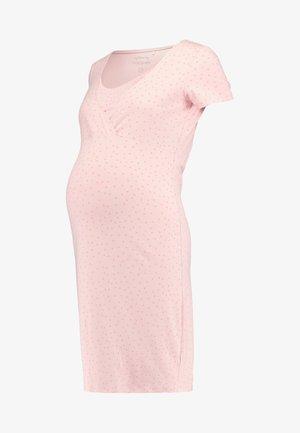 DRESS NURS SUZY SOLID - Nightie - silver pink