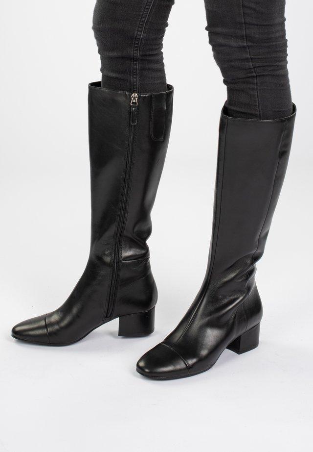 LESTIFE  - Over-the-knee boots - schwarz