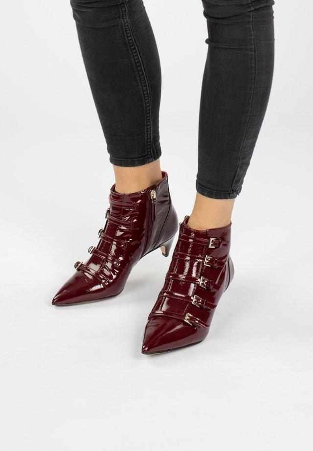 ZYDECO  - Boots à talons - oxblood
