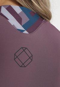 ION - TEE HALF ZIP TRAZE  - T-Shirt print - antic lila - 9