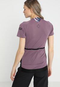 ION - TEE HALF ZIP TRAZE  - T-Shirt print - antic lila - 2