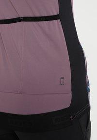 ION - TEE HALF ZIP TRAZE  - T-Shirt print - antic lila - 5