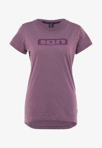 ION - TEE SEEK - T-Shirt print - antic lila - 4