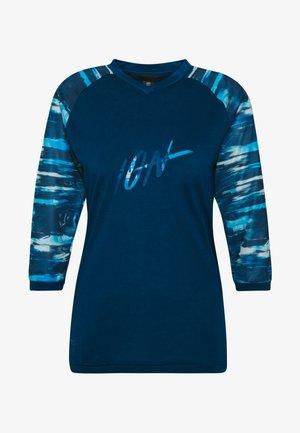 TEE SCRUB - Koszulka sportowa - ocean blue