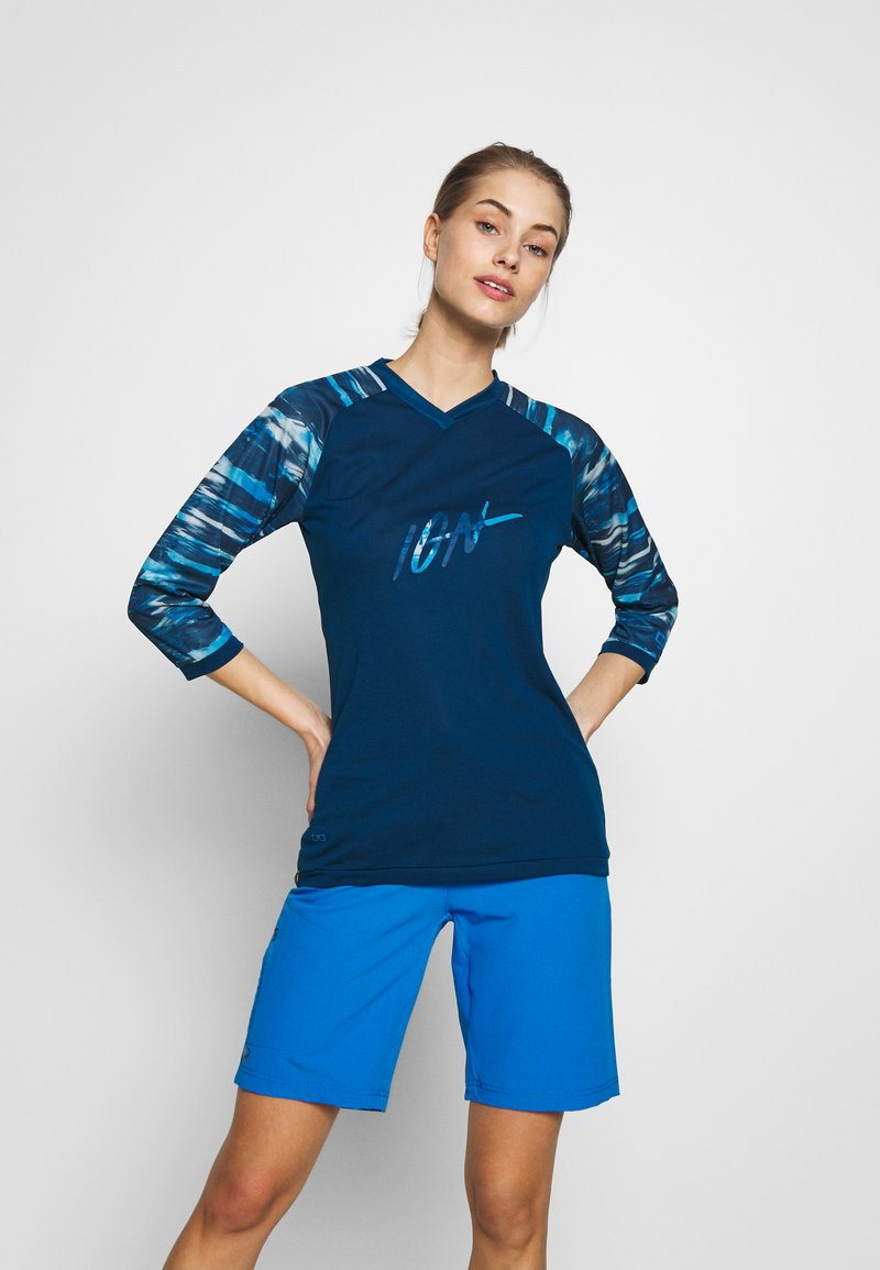 ION - TEE SCRUB - Koszulka sportowa - ocean blue
