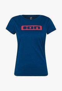 ION - TEE SEEK - T-Shirt print - ocean blue - 4